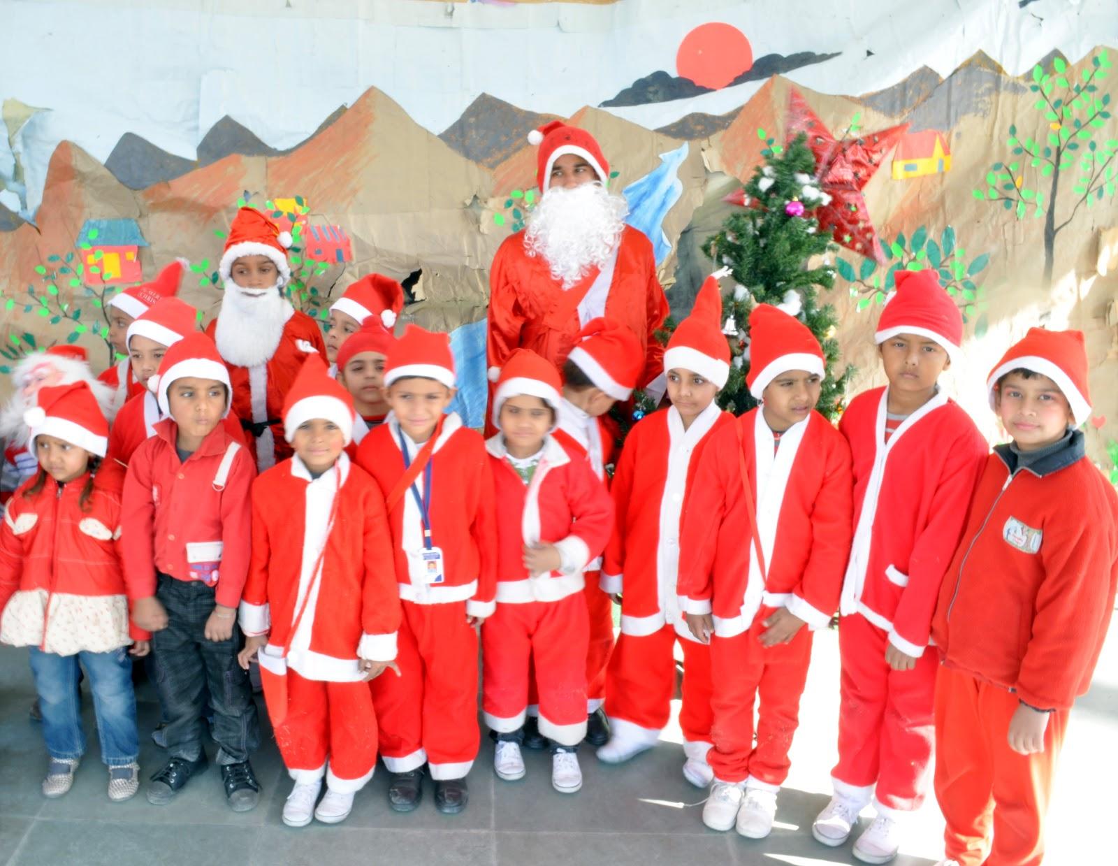 Punjabnewswire4u: Christmas celebrations at Golden Bells