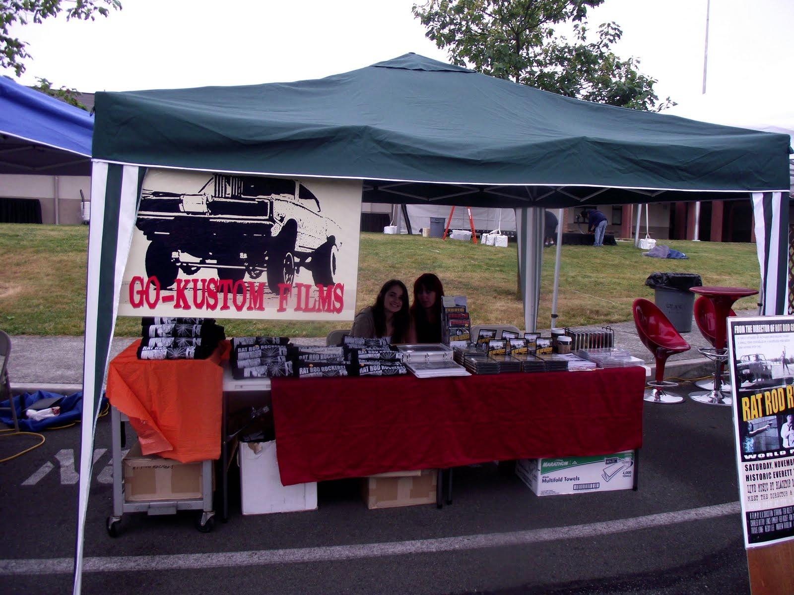 GoKustom Shoreline Classic Car Show - Car show booth