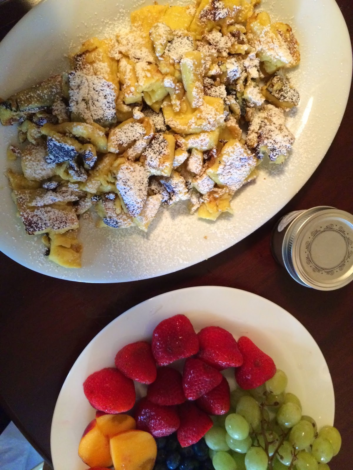 Four sisters adore kaiserschmarrn for Ankers fish fry