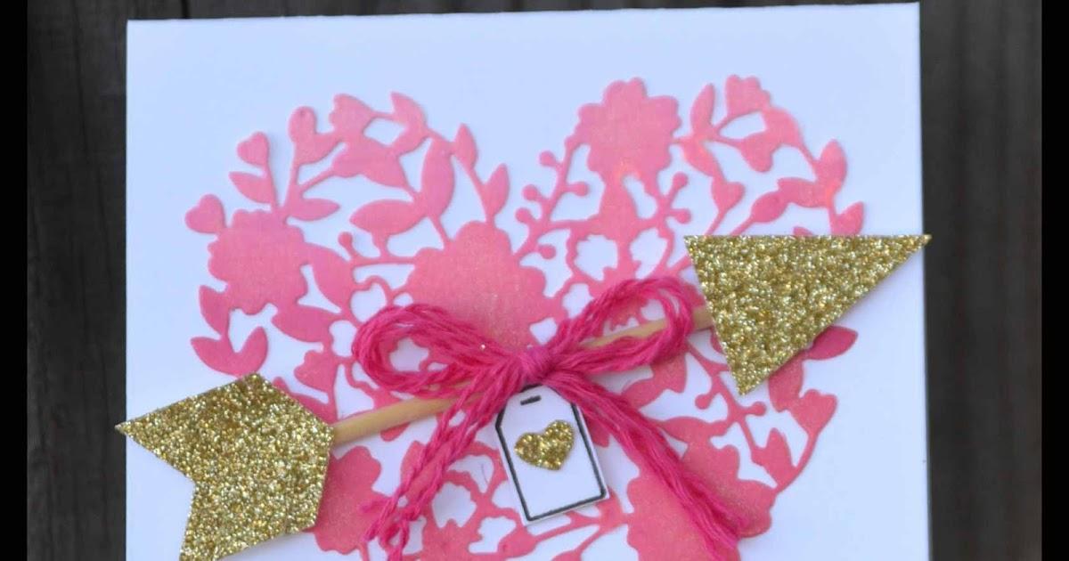 Pink Buckaroo Designs Ombre Bloomin Love Valentine