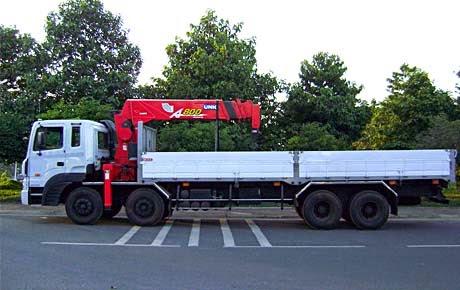 thuê xe cẩu tự hành 15 tấn