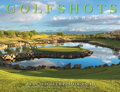Golf Shots 2015 Calendar