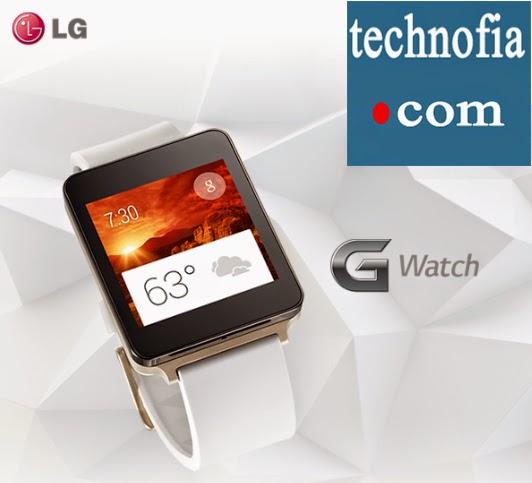 LG G Watch @technofia.com