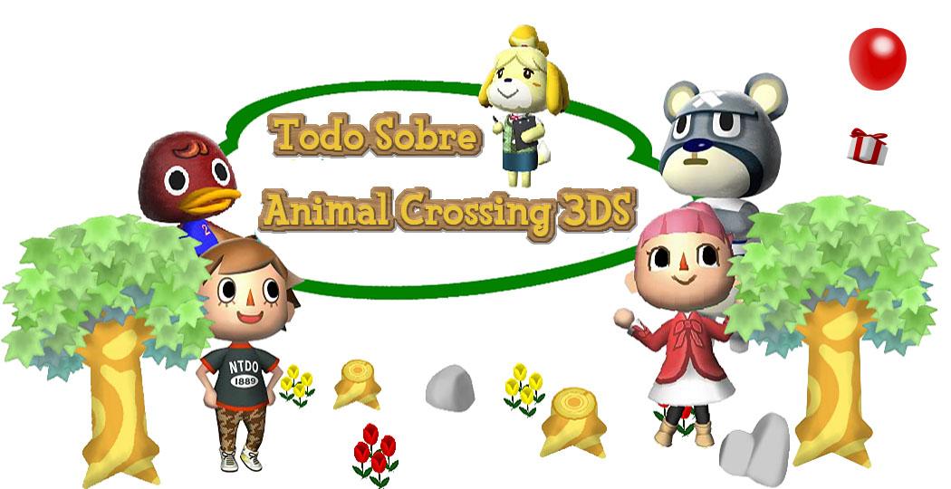 Todo Sobre Animal Crossing 3DS
