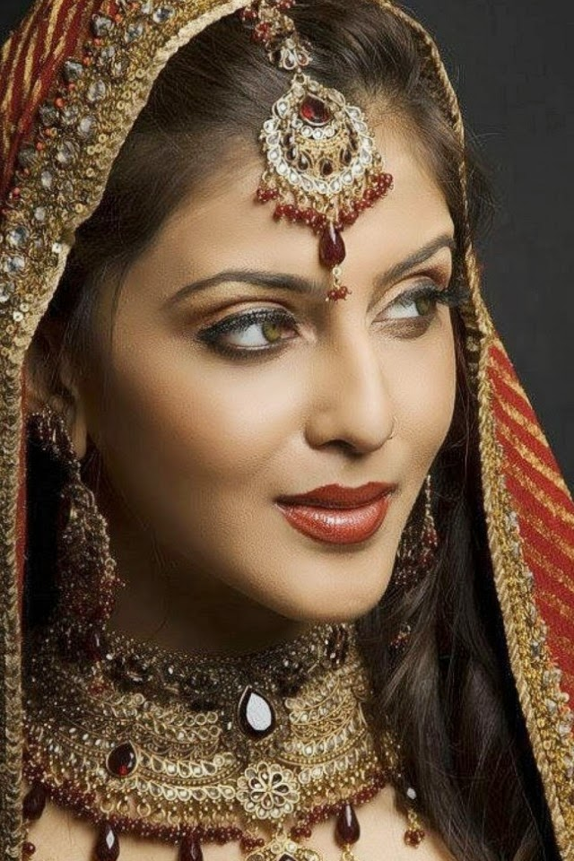 Beautiful Wedding Makeup Pictures : Beautiful Indian Girls Wallpapers, 100 Pictures for ...