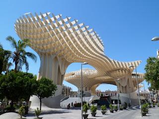 Setas de la Encarnacion, Seville in Southern Spain