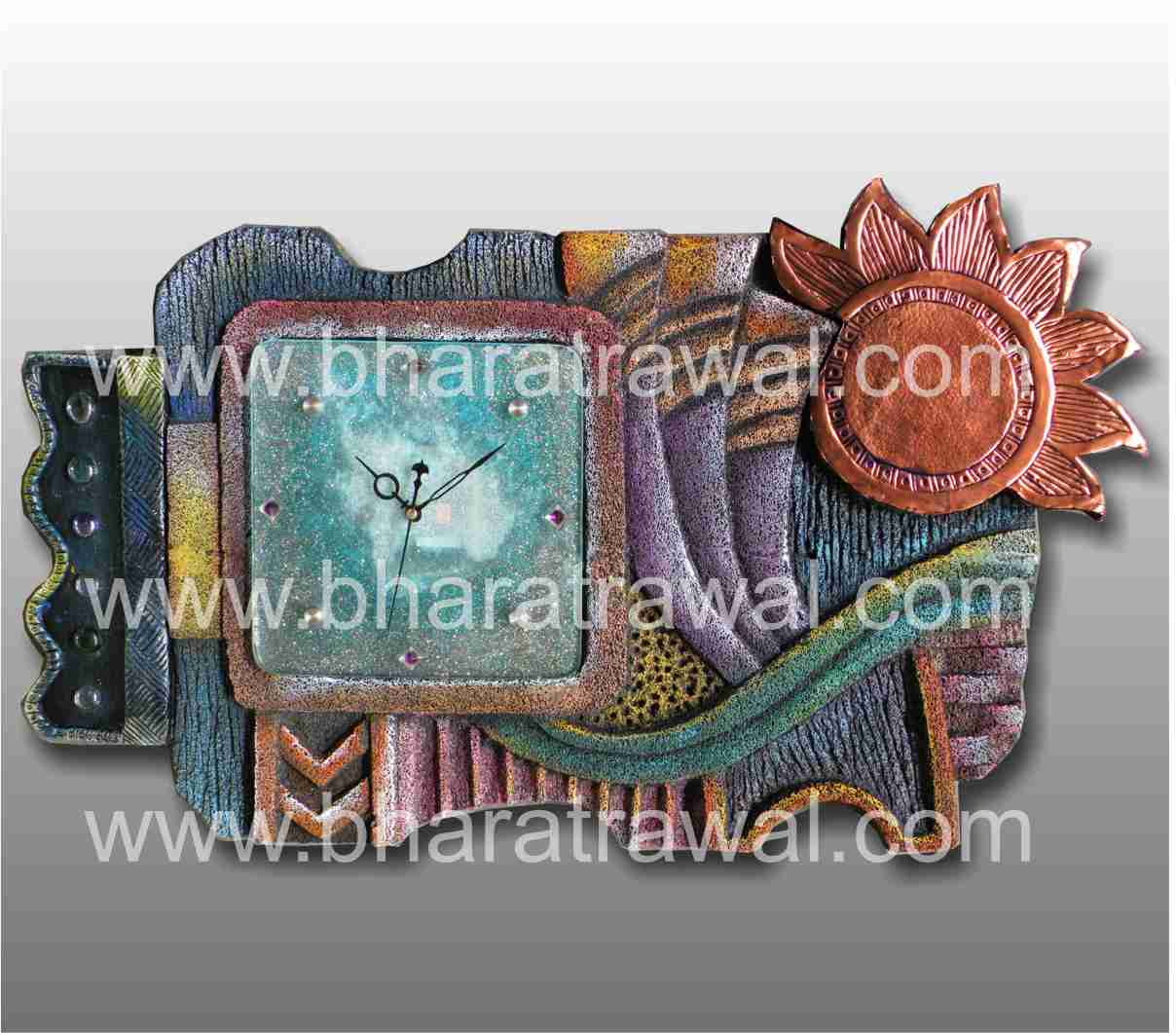 Mural art by muralguru bharat rawal april 2012 for Ceramic mural painting