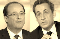 Sarkozy Hollande