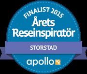 Årets Reseinspiratör 2015, Storstadsresor – finalplats
