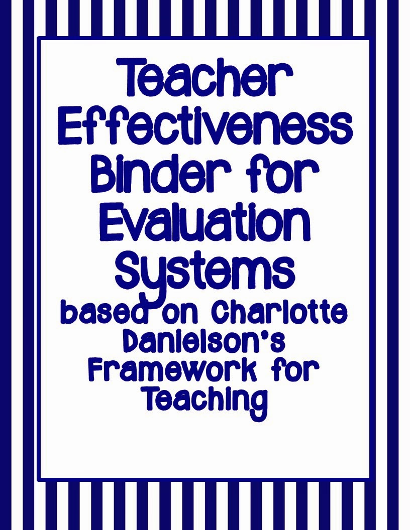 http://www.teacherspayteachers.com/Product/Binder-for-Evaluation-Systems-based-on-Danielsons-Framework-for-Teaching-NAVY-1007183