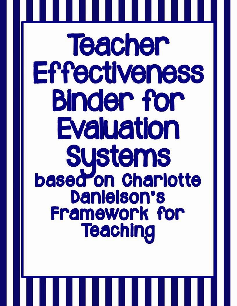 http://www.teacherspayteachers.com/Product/Binder-for-Evaluation-Systems-based-on-Danielsons-Framework-for-Teaching-NAVY-1007183