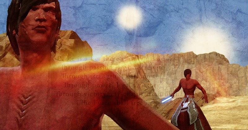 Khali goes SWtoR: Half naked Sith is half naked