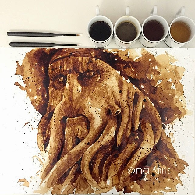 17-Davy-Jones-Maria-A-Aristidou-Pop-Culture-Painted-with-Coffee-www-designstack-co