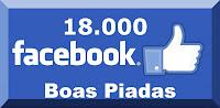 Já são mais de 18000 pessoas que curtem piadas para o Facebook.
