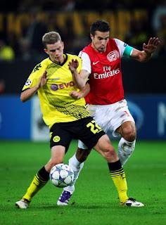 Prediksi Arsenal vs Borussia Dortmund