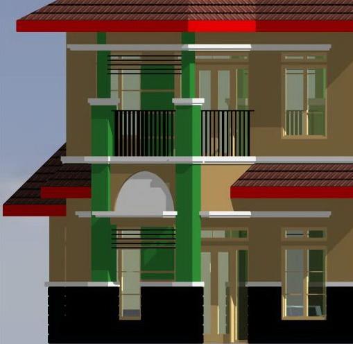 contoh rumah minimalis teras
