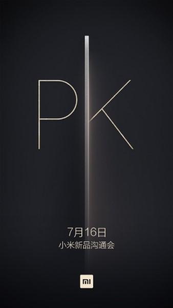 Xiaomi akan umumkan sesuatu tanggal 16 July mendatang, mungkinkah MI5 dan MI5 Plus?