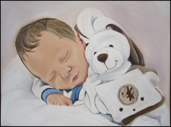 portrait de nouveau né