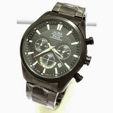 Alba Triple Chrono full black