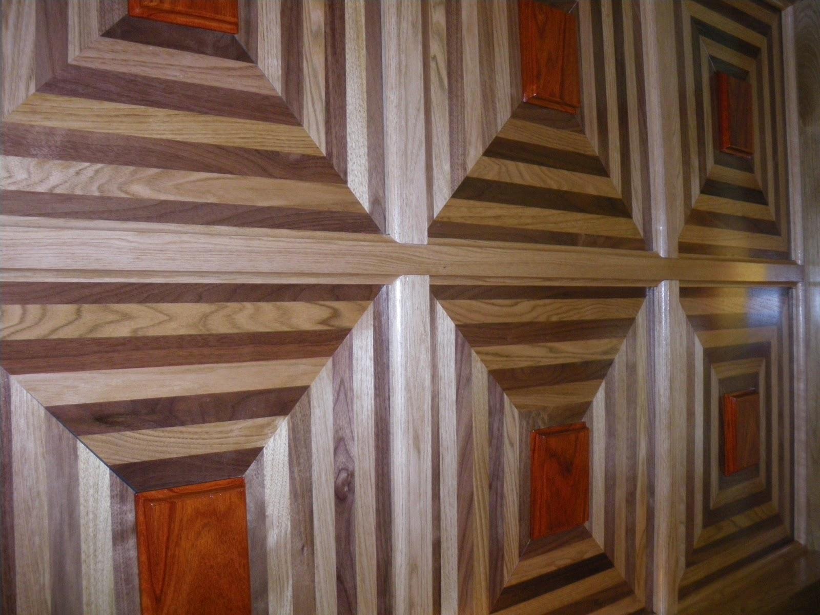 Menuiserie st m thode plafond supendu en bois for Modele plafond suspendu
