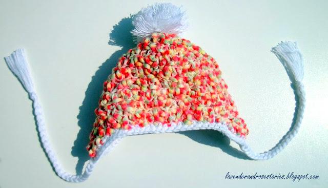 szydełkowa czapeczka