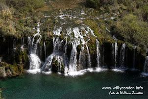 Cascadas de Carhuayno