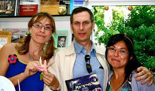 Gracia Iglesias, Álvaro Fierro, Susana Rosique, Los Meagrada, Feria del Libro de Madrid, Egartorre