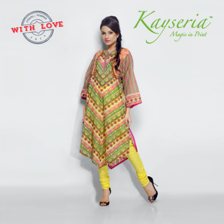Kayseria Summer Spring Lawn 2014 Collection
