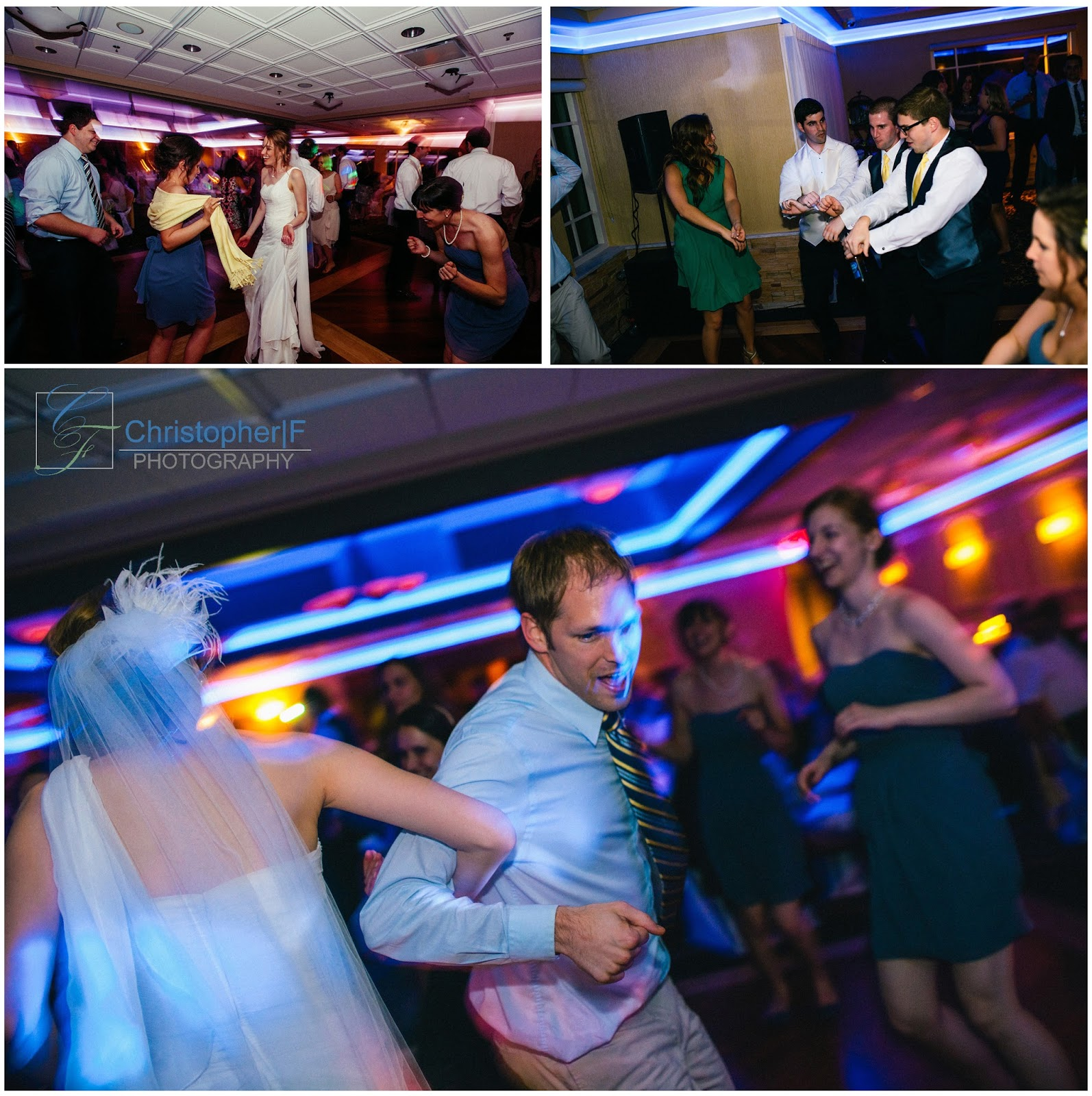 Chicago Wedding Party Photo