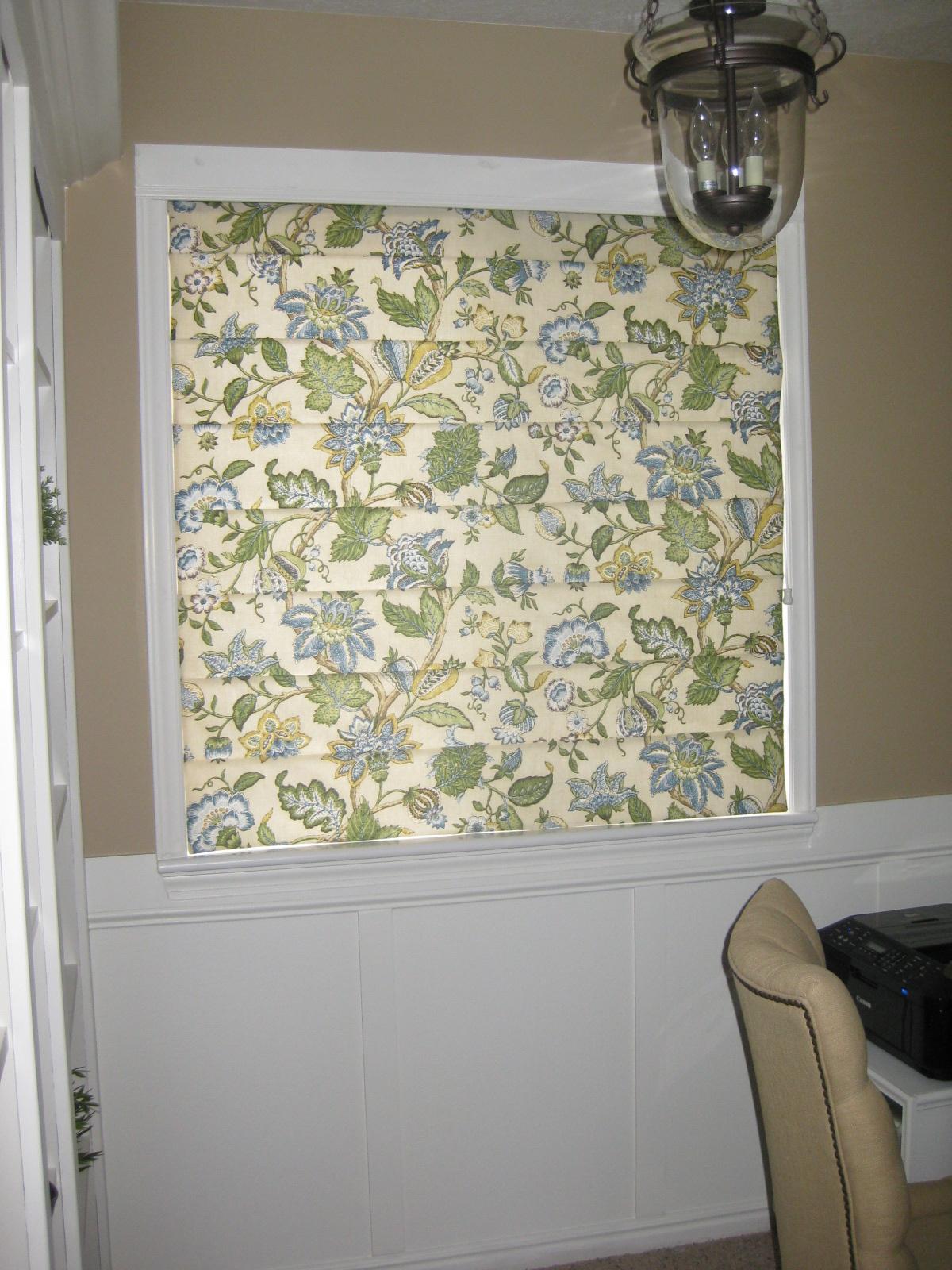 Ro Ro Roman Shade Curtain Patterns - Roman shade tutorial