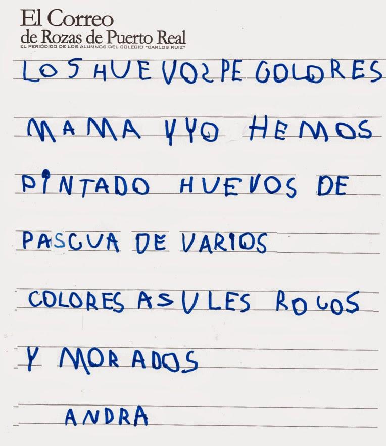 El Correo De Rozas De Puerto Real Los Huevos De Colores