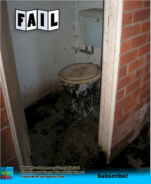 The ryan award funny pictures and funny videos fail for Disgusting bathroom pictures