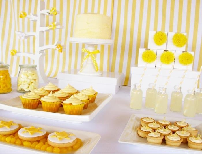 decoracao branco amarelo : decoracao branco amarelo:Dionete Lemos Eventos: Decoração em amarelo e branco