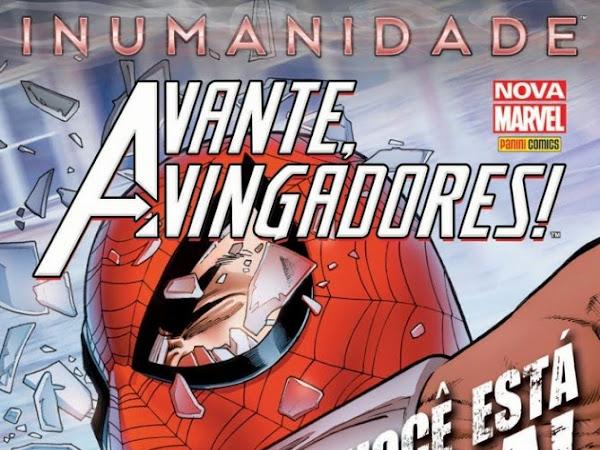 Lançamentos de março da Panini Comics - Marvel Comics