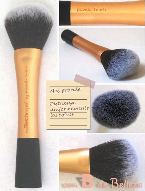 Powder brush Brocha polvos