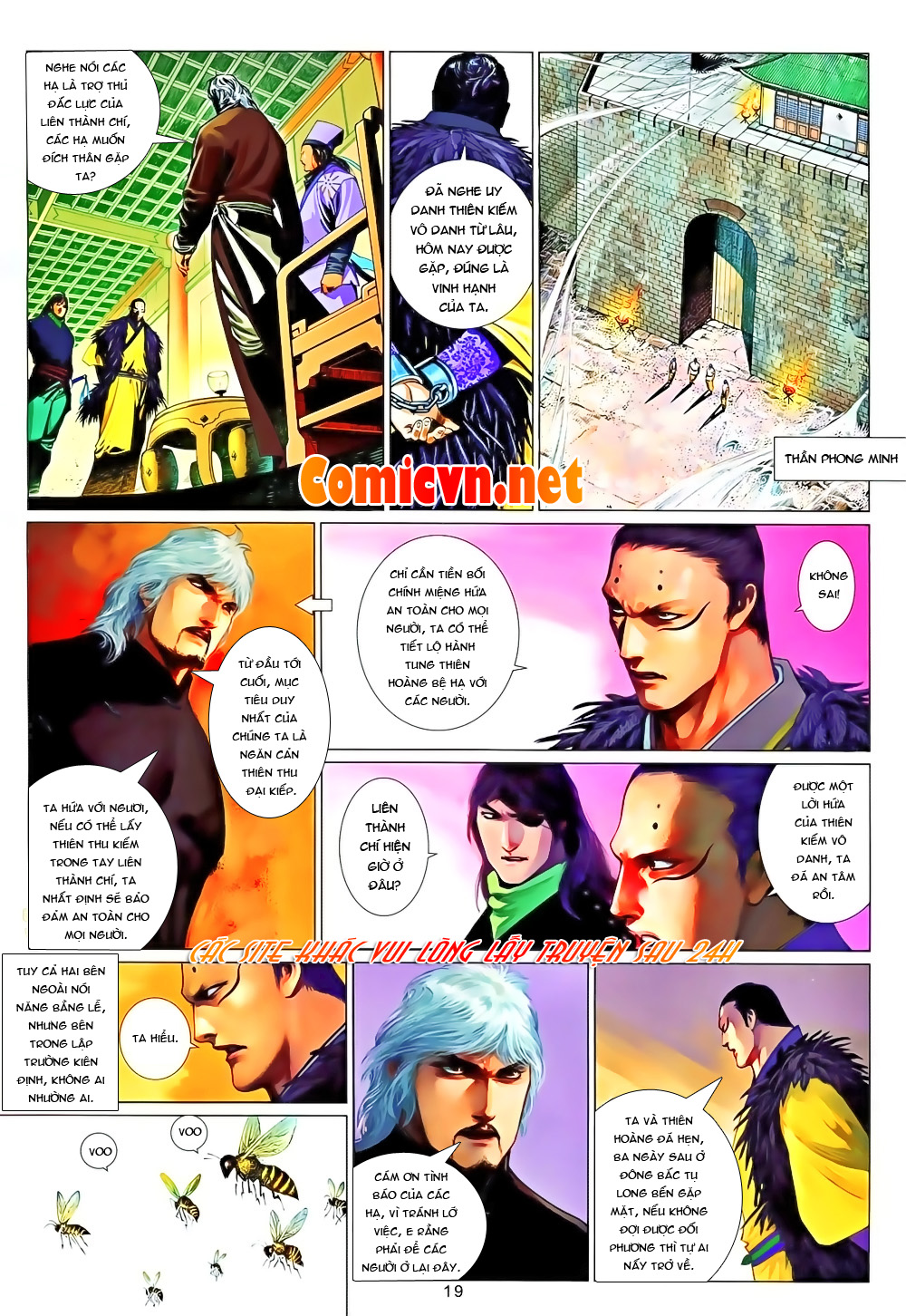 Phong Vân chap 651 Trang 19 - Mangak.info