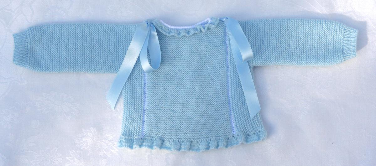 Deartebea de todo tejiendo para el beb chalequito y - Patrones jerseys de punto hechos a mano ...