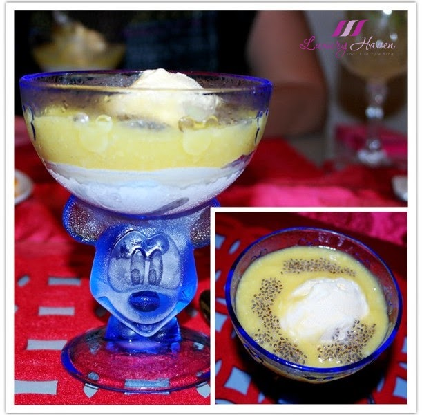 mango puree ice cream chia seeds dessert recipes