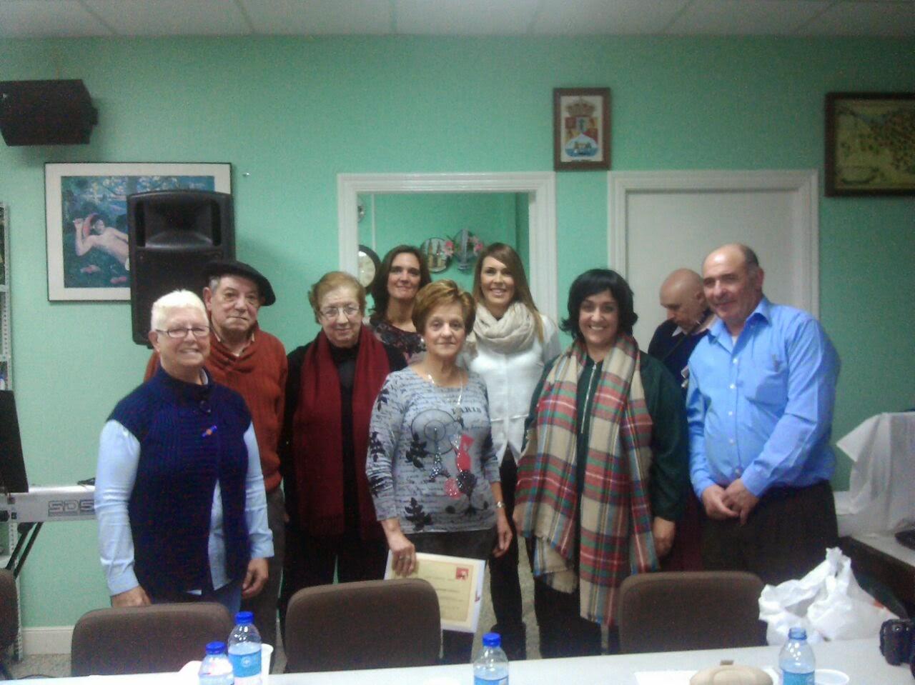 Los mayores de Sanfuentes relatan sus vivencias para ayudar a superar los problemas de la crisis