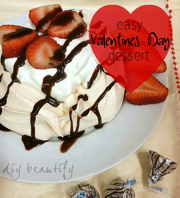 Easy and Impressive Valentines day dessert