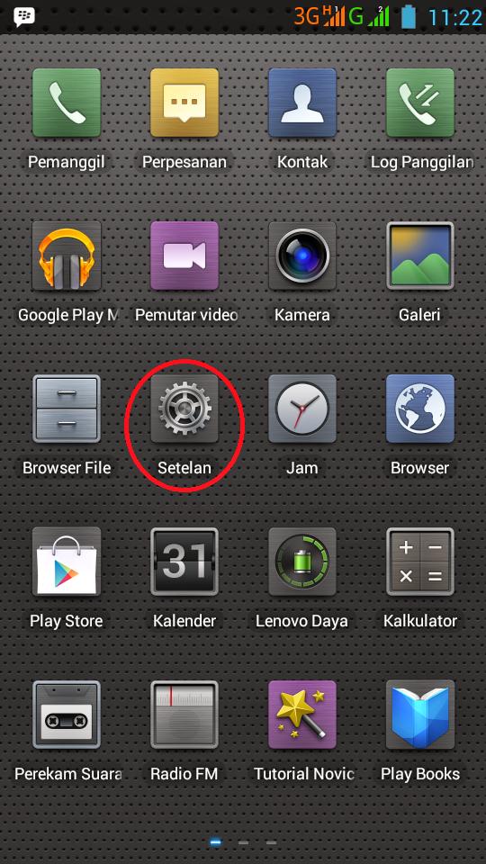 Cara Setting Wifi Pada Lenovo A850