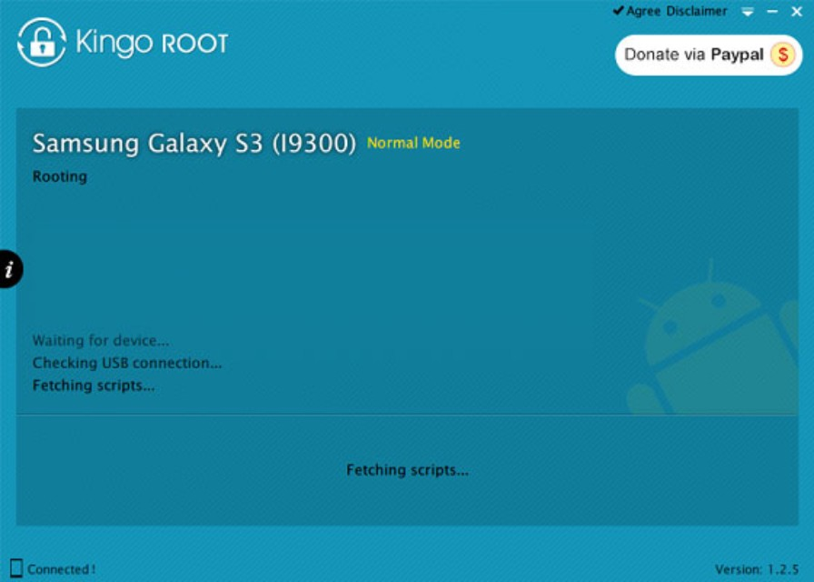 kingo android root rooting device