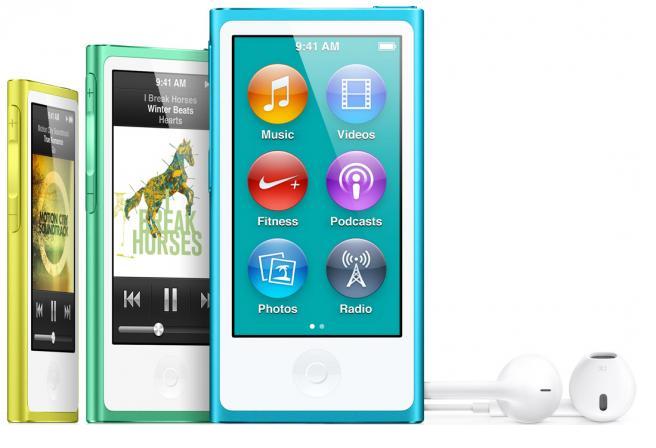 Spesifikasi Apple iPod Nano 16GB 7th Generation