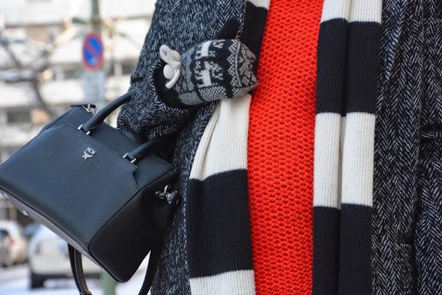 Tasche MCM, Bag MCM, Sonia Rykiel scarf