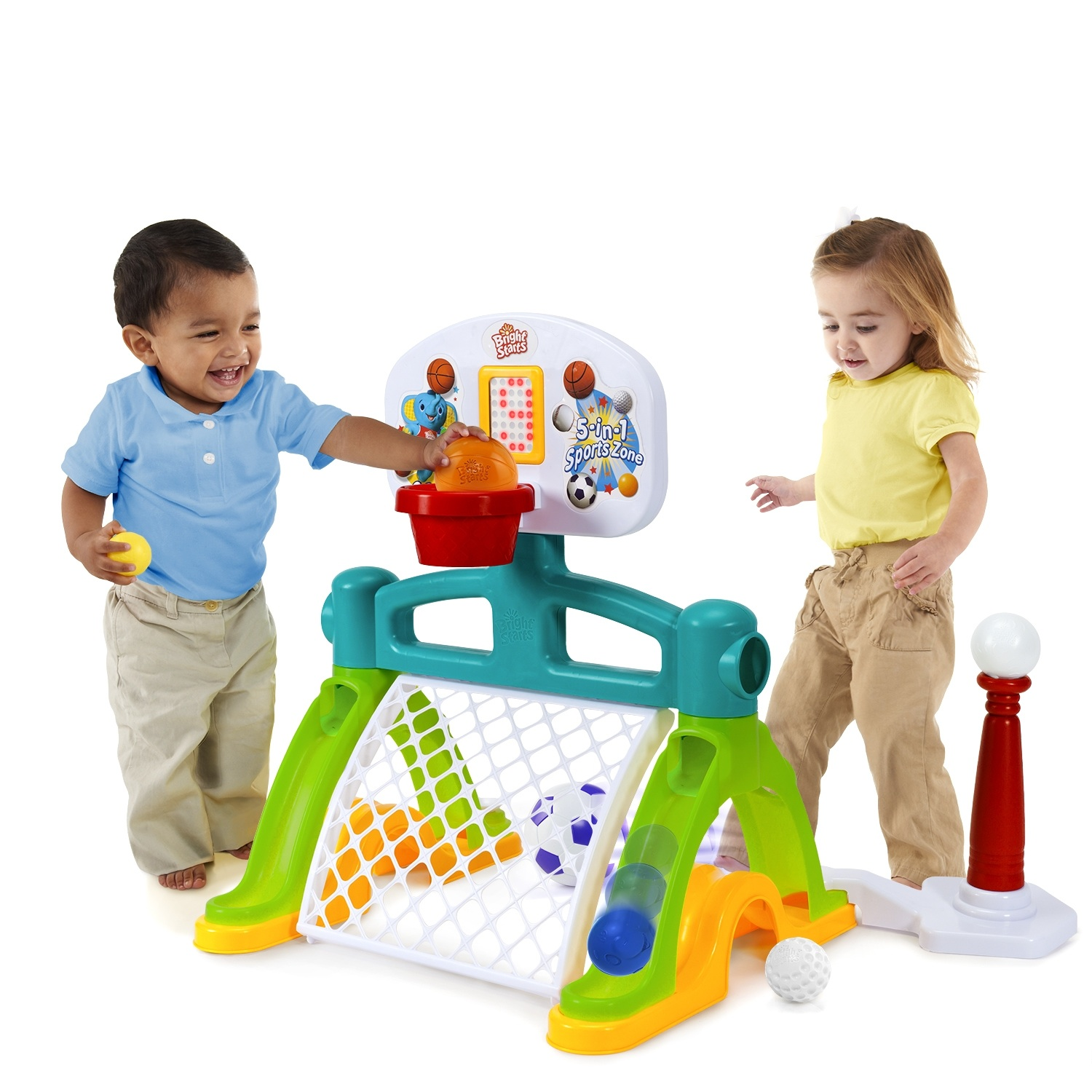 Mommy Katie: Bright Starts Having A Ball 5 in 1 Sports Zone ...