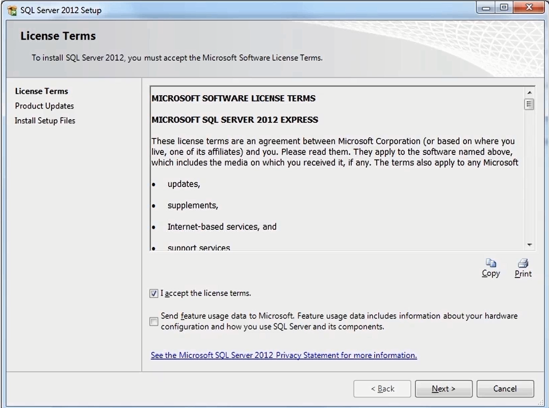 How to Install SQL Server 2012 Express      3