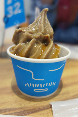Coffee & Kahlua soft serve ice cream at Ice Monster, Omotesando, Tokyo.