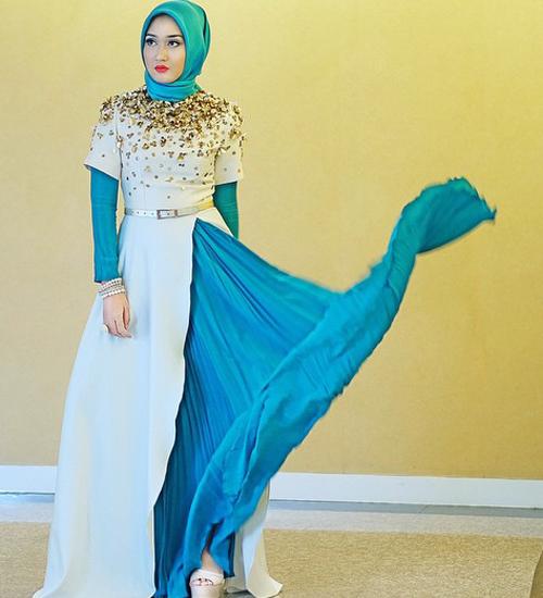 14 Contoh Gambar Desain Model Baju Dian Pelangi Terbaru