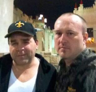 Rick Dyer And Musky Allen in Vegas