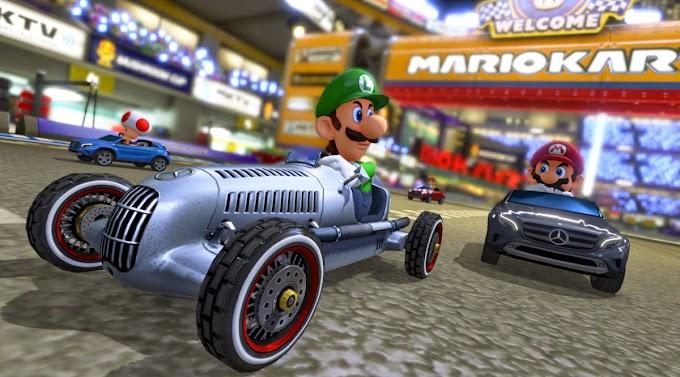Mario Kart 8 Mercedes Benz Update